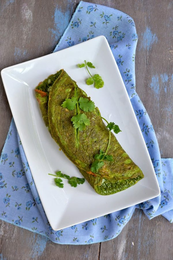 Vegetarian Green Eggs (with Spinach)