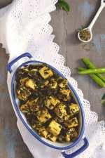 Methi Paneer Dry Curry