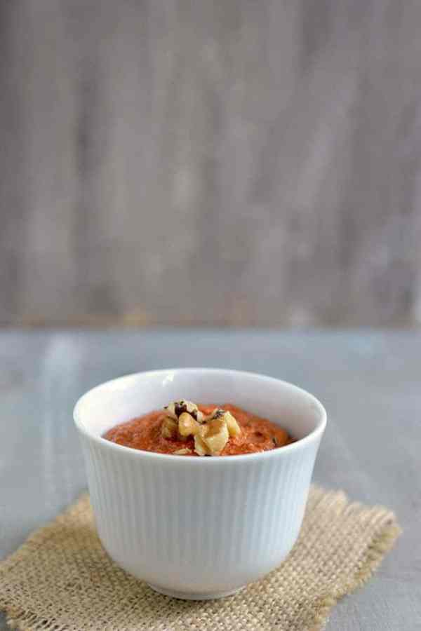 Muhammara (Red Pepper Walnut Spread)