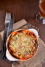 Eggplant Parmesan for 1