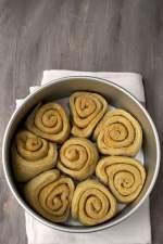 Buttery Sourdough Dinner Rolls