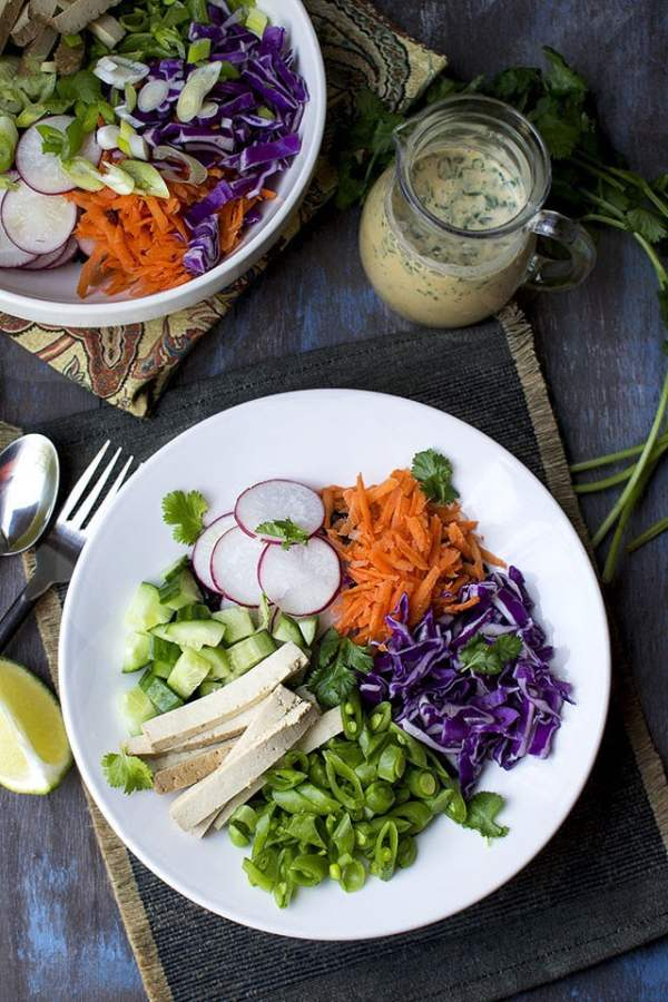 Thai Coconut Lime Dressing