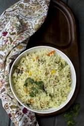 Bengali Vegetable Pulao