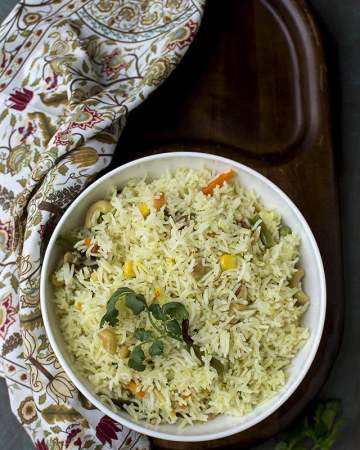 Bengali Vegetable Pulao