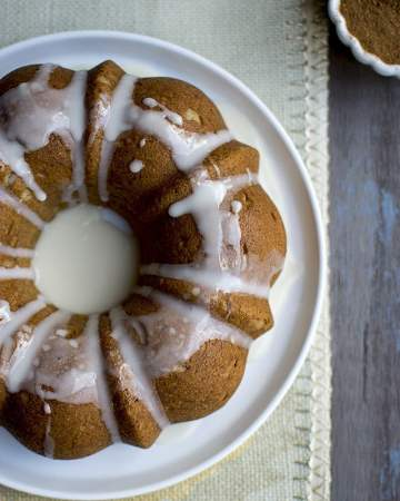 Pound Cake with Chai Spice