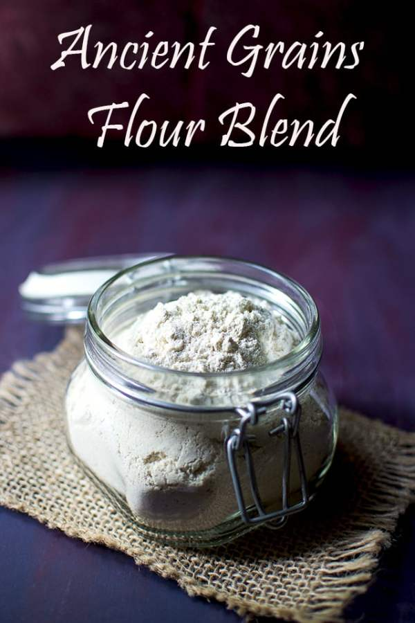 Homemade Ancient Grains Flour blend