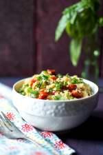 Roasted Tomato Tabbouleh