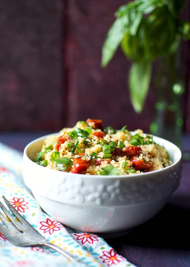 Tabbouleh with Roasted Tomato