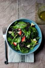 Wild Rice & Baby Greens Salad
