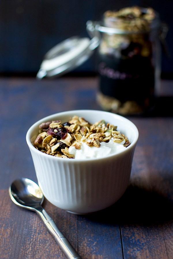 Cranberry Cacao Nib Granola