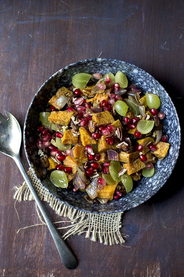 Sweet Potato Pecan Salad