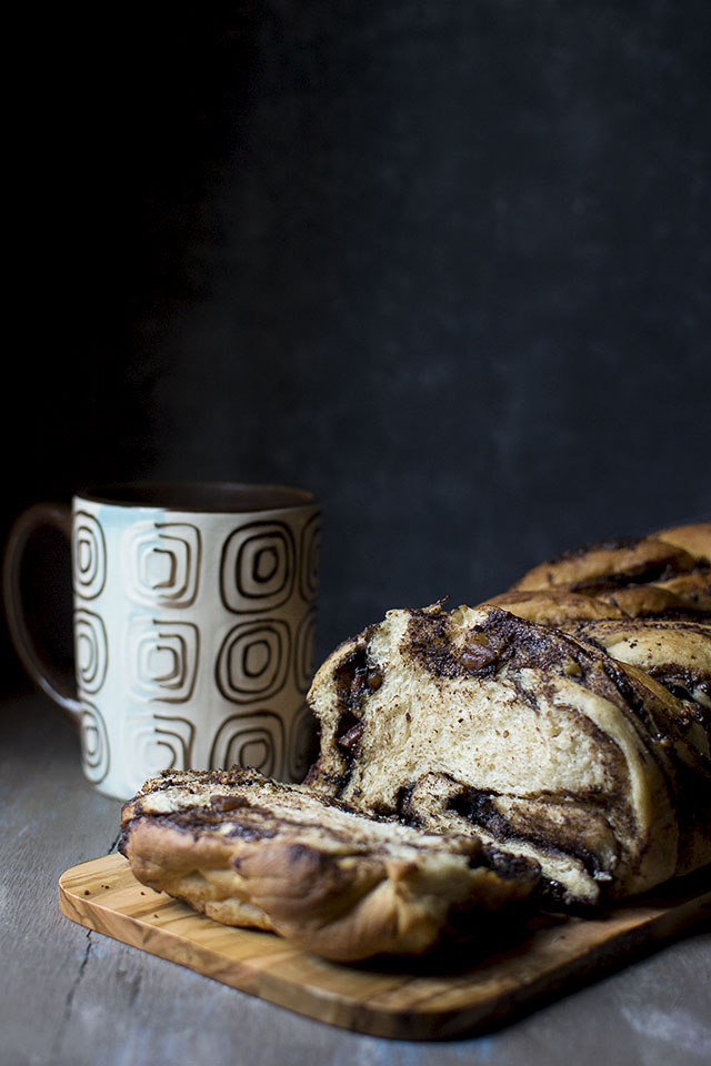 Babka with Chocolate Filling