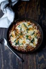 One Pot Vegetarian Pasta Casserole