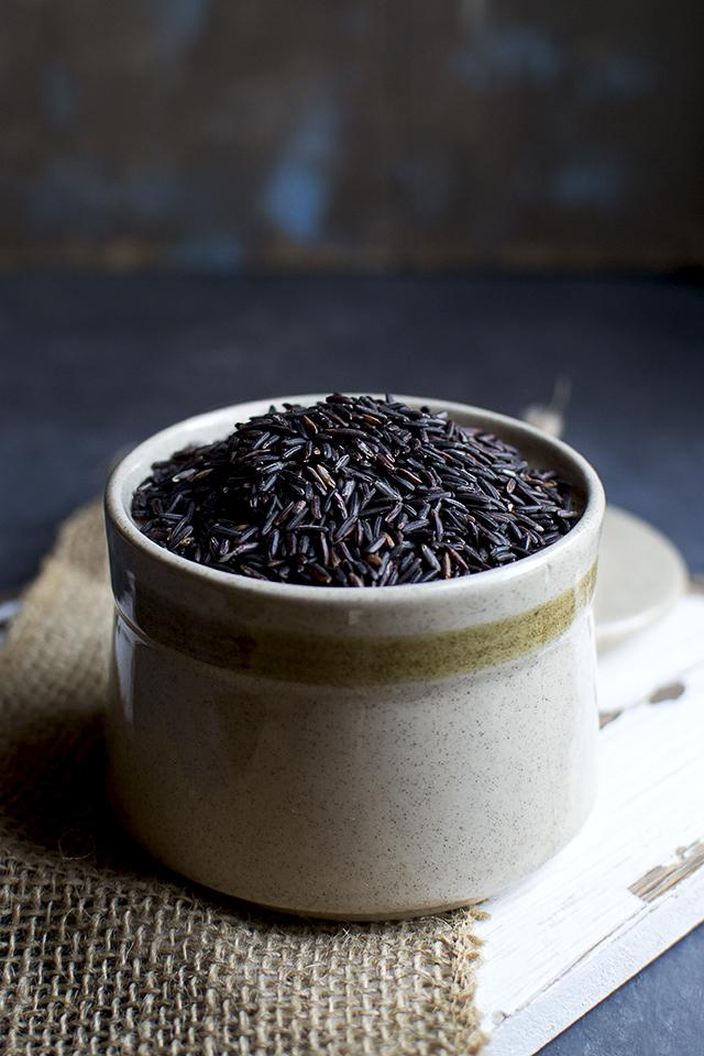 Black & White Rice Pudding
