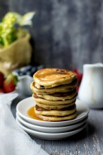 Oats and Sour cream Pancakes