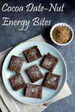 Cocoa Dates-Nut Energy Bites