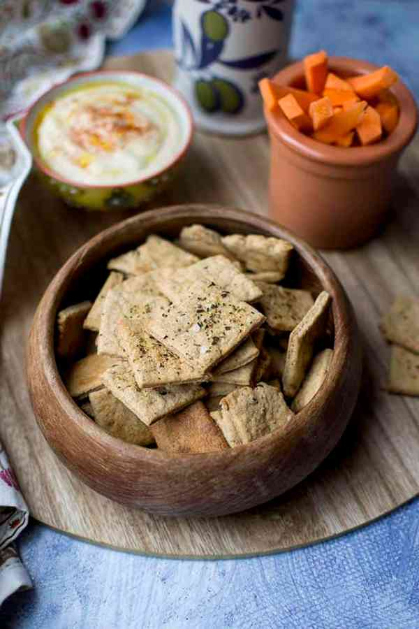Sprouted Wheat Crackers