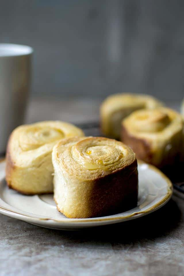 Sweet Rolls with Apricot filling