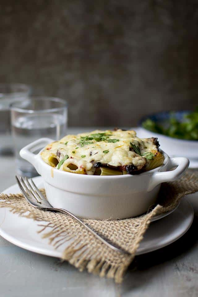 Greek Baked Pasta dish