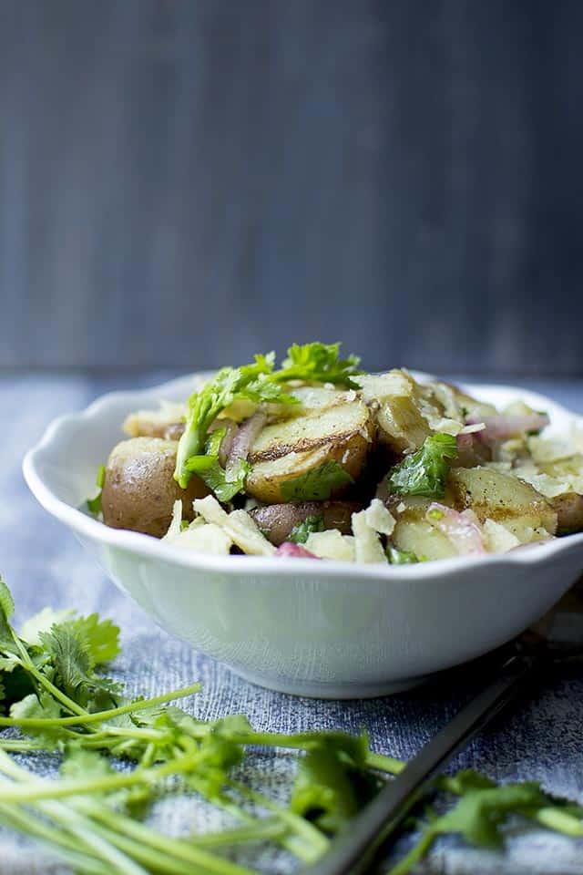 Mayoless Potato Salad