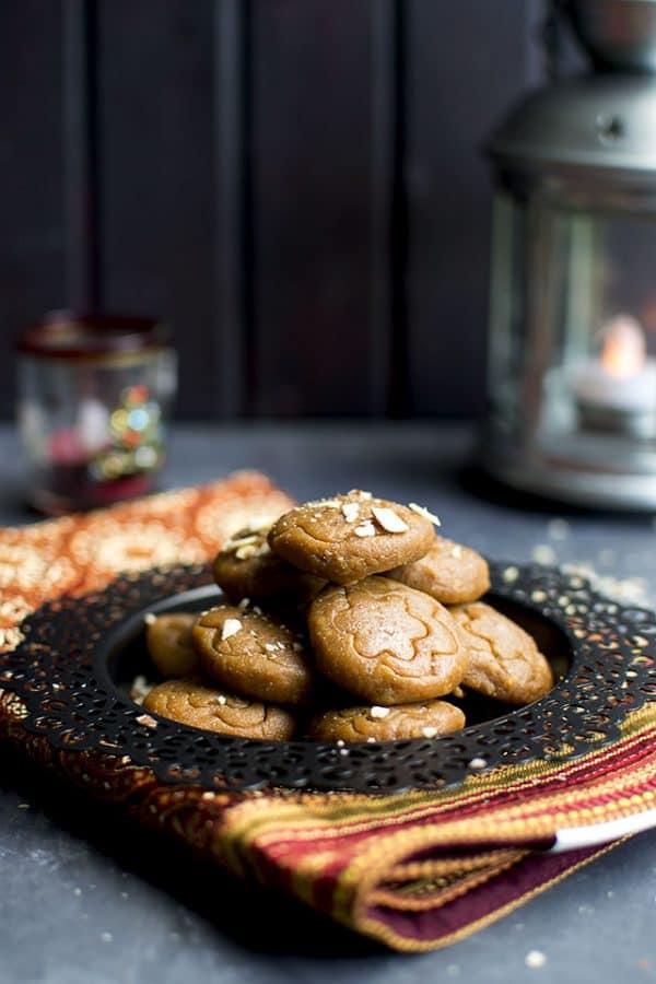 Dulche de Leche-Almond Peda