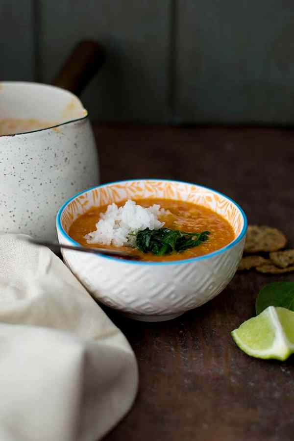Indian style Red Lentil Soup