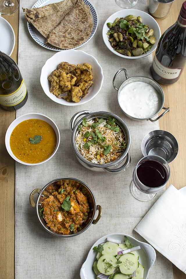 Indian Style Vegetarian Holiday Dinner Hosting Tips