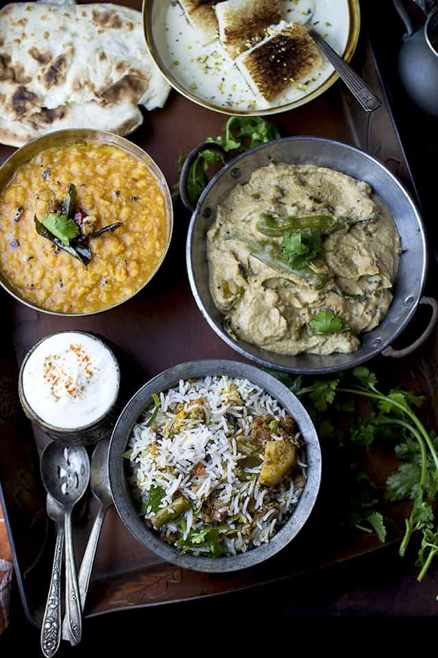 Hyderabadi Thali