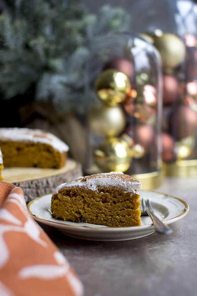 Vegan Pumpkin Cake