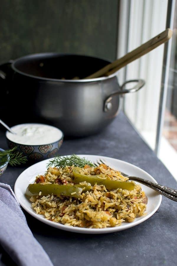 Dill Tomato Rice