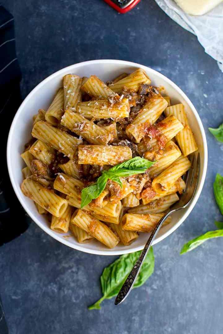 Mushroom Bolognese Sauce