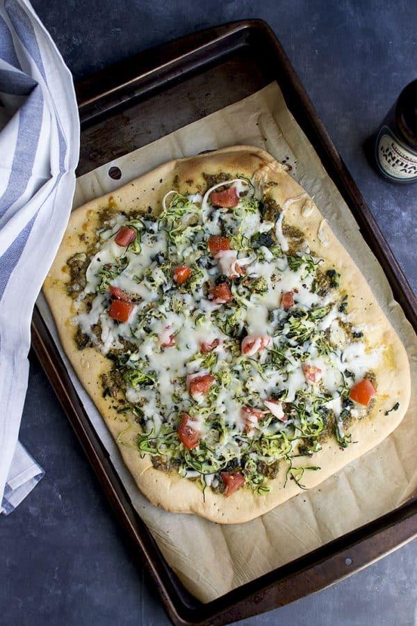 Beer Crust Pizza