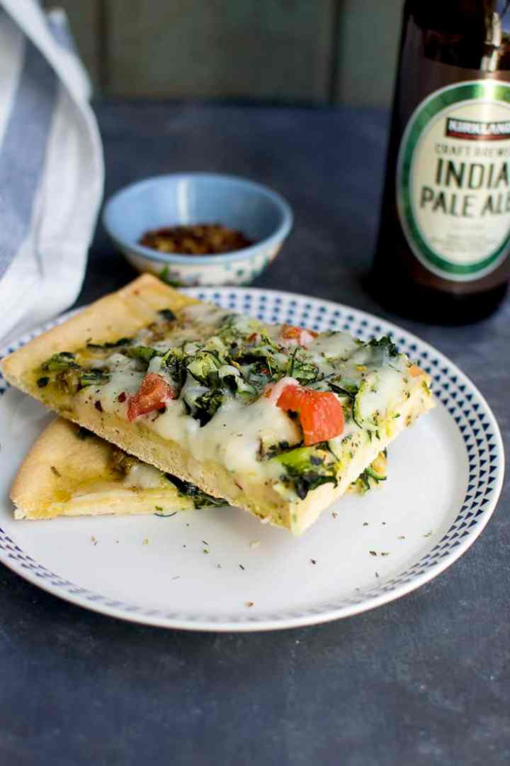 Pizza Crust with Beer