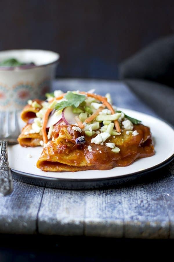 Folded Enchiladas