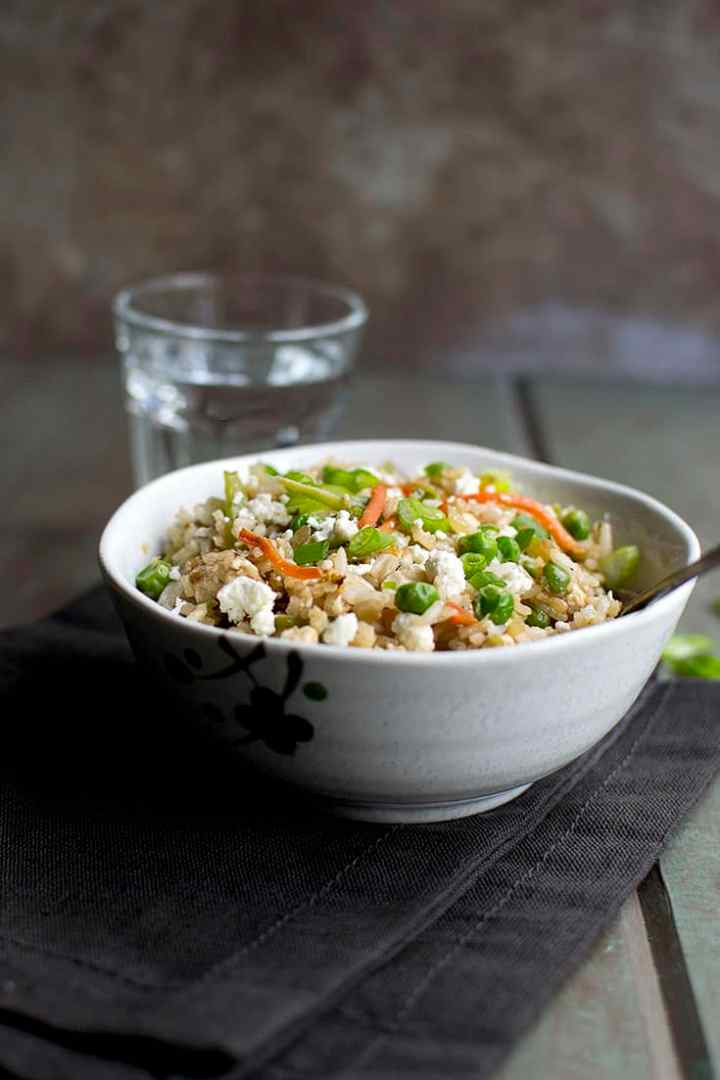 Fried Rice with Paneer
