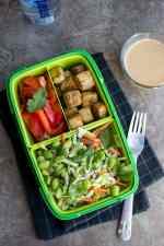 Tofu & Broccoli Salad