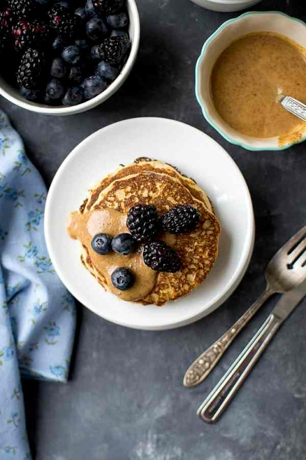 Fluffy Whole Grain Pancakes