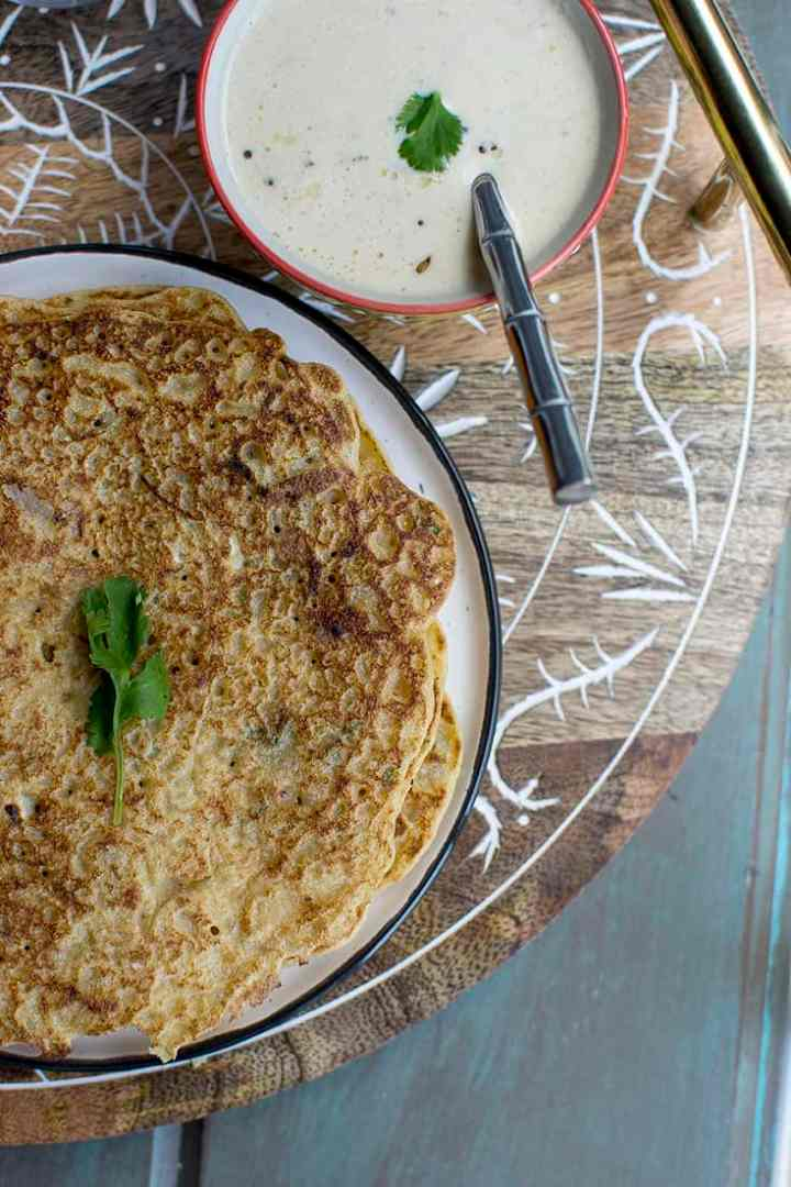 Konkani Rice Dosa