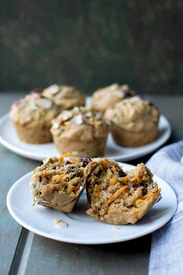 Vegan Harvest Muffins