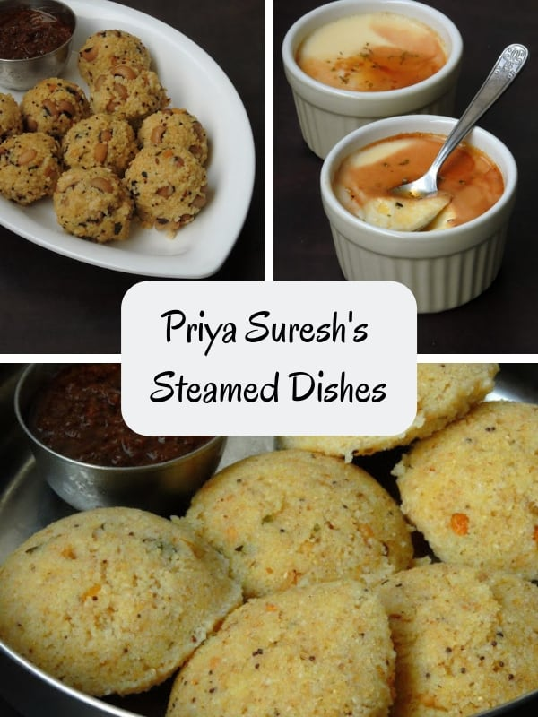 Priya Suresh's Steamed Dishes