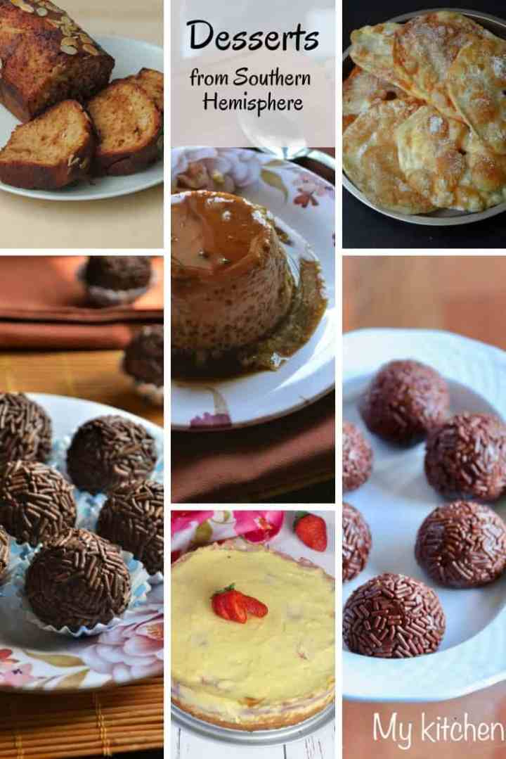 Desserts from Southern Hemisphere