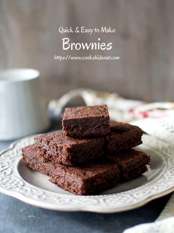 Quick Fudge Brownies