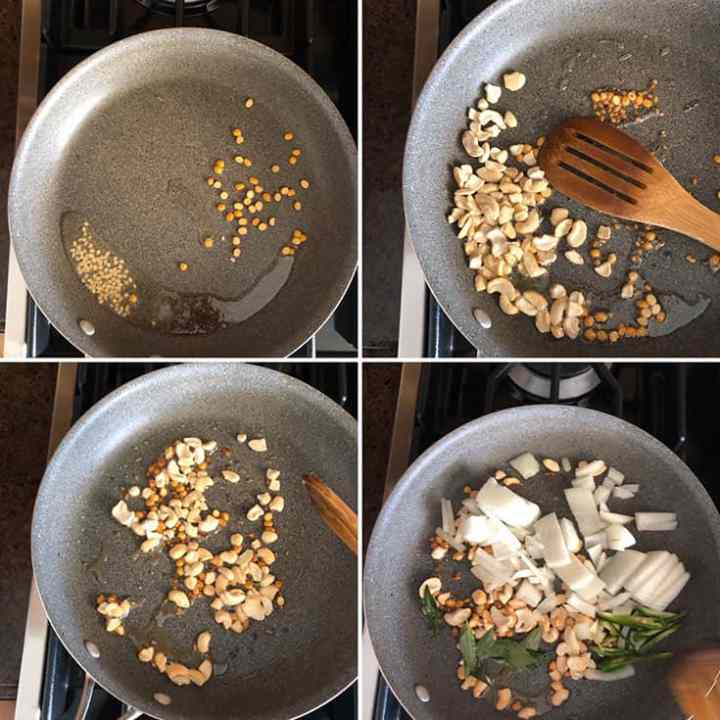 Step by step instructions for making Coconut rice noodles