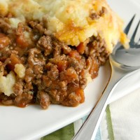 Cottage pie for comfort