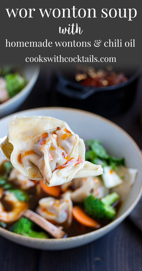 Wor Wonton Soup Recipe With Homemade Wontons Cooks With
