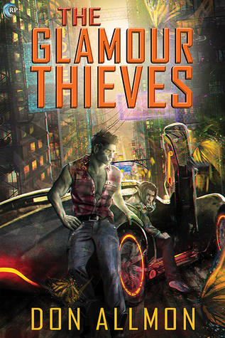 The Glamour Thieves Book Cover