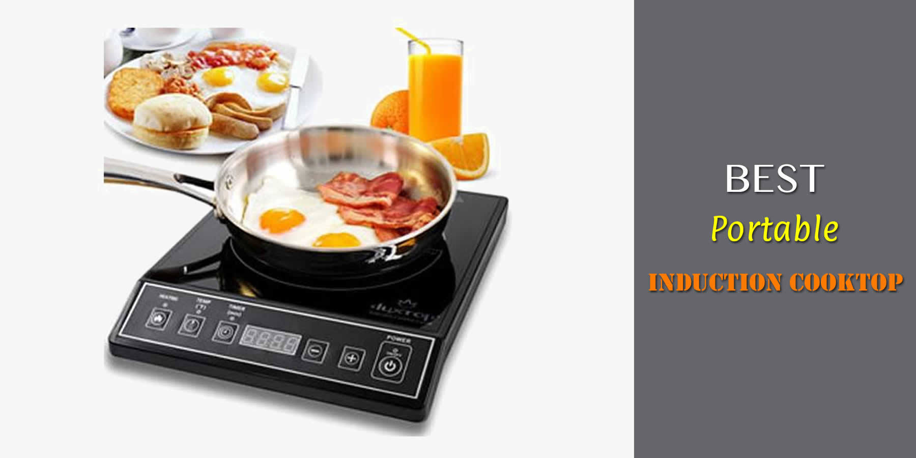 Best Portable Induction Cooktop In 2018 Guide Amp Reviews