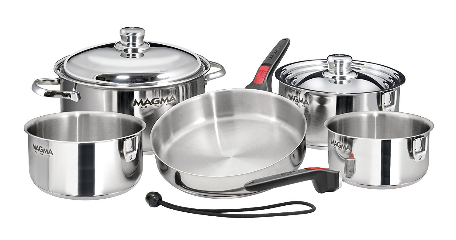 Magma Products 10 Piece Stainless Steel Cookware Set Review