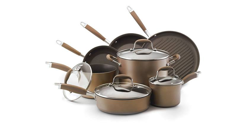 Anolon Hard Anodized Nonstick 11-Piece Cookware Set Review