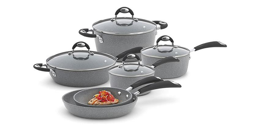 Bialetti 10-Piece Granito Cookware Set Review